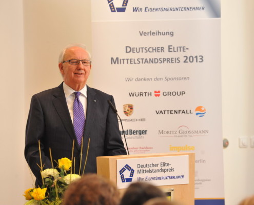 Dr. Ingo Friedrich, UMU-Exekutivpräsident