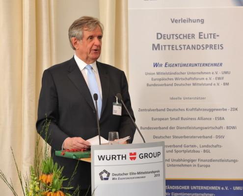 UMU Präsident Hermann Sturm