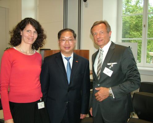 Dina Treu, Vizepräsidentin BM, Botschafter SHI, Dr. Yorck Otto